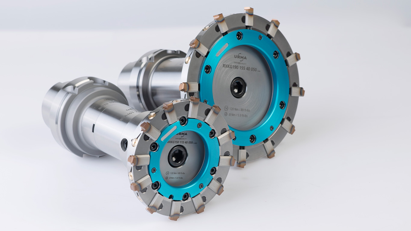 <b>RX large</b><br/>Big, bigger, RX large - powerful reaming for large diameters.