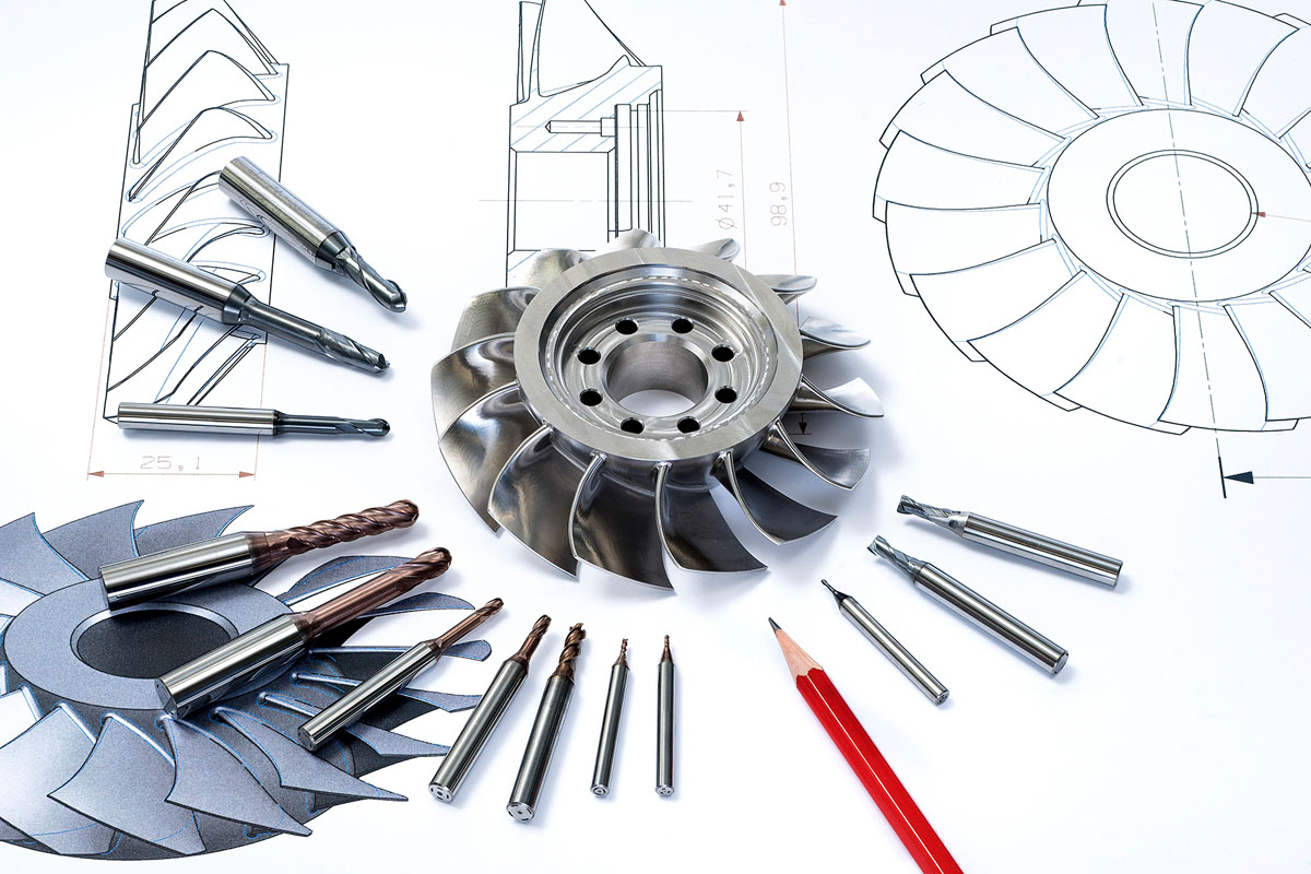 Cutting tools for high demanding industries such as Aerospace or Energy.
