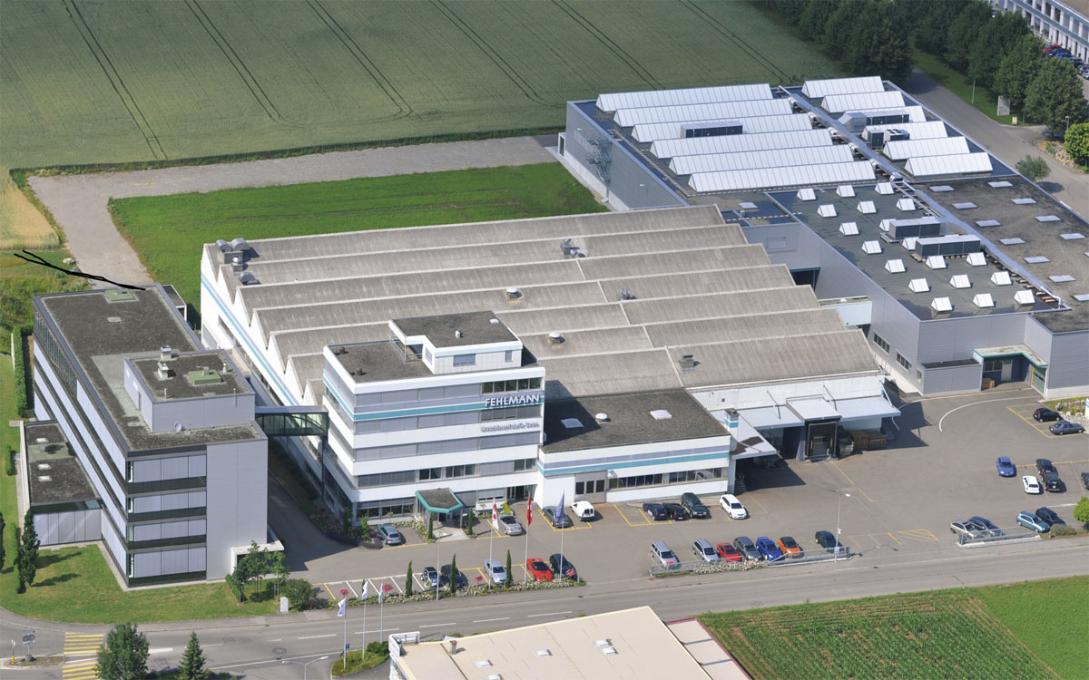 Fehlmann AG – main works in Seon / Switzerland