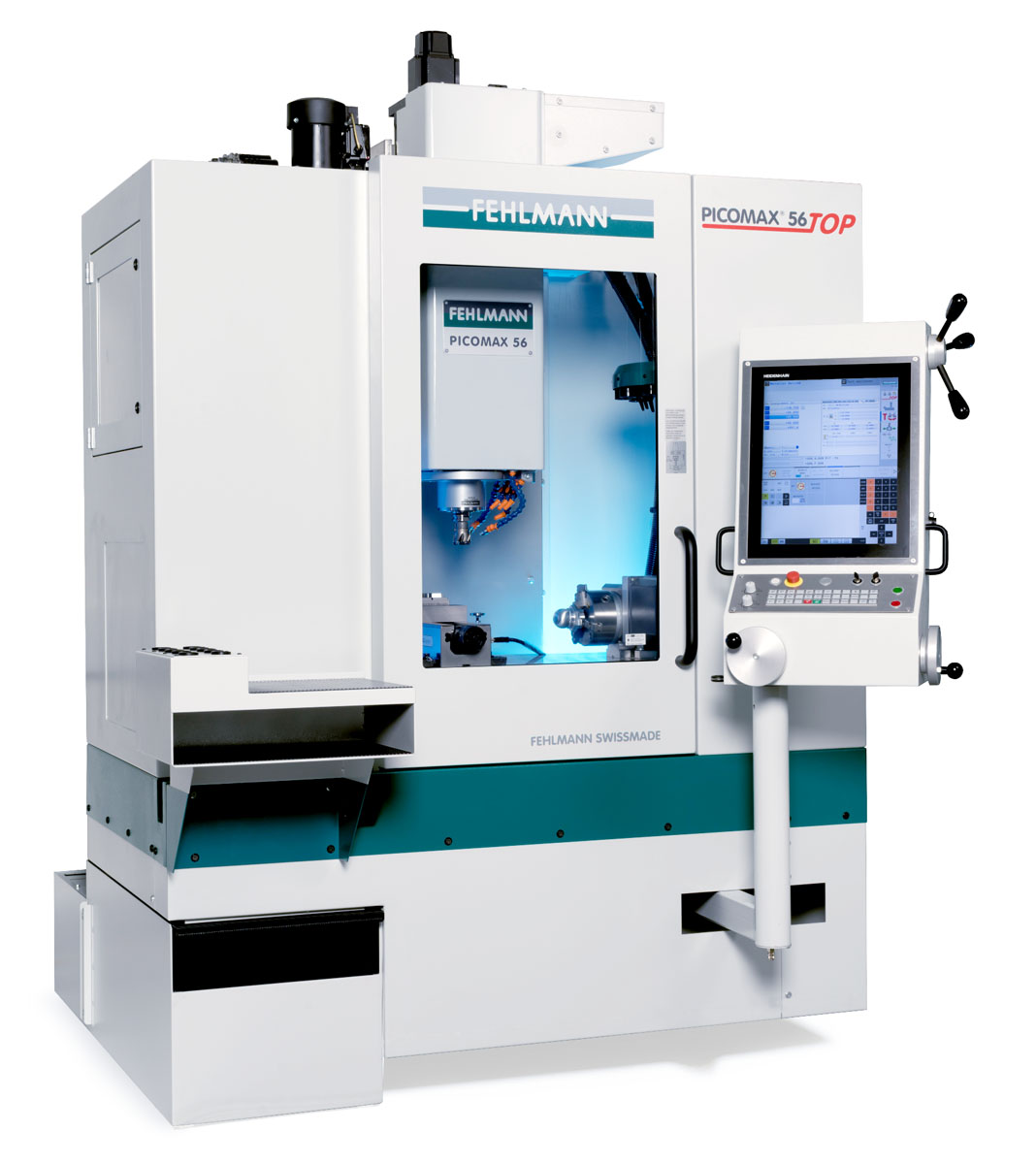 PICOMAX 56 TOP – the TOP machine for manual and CNC operations