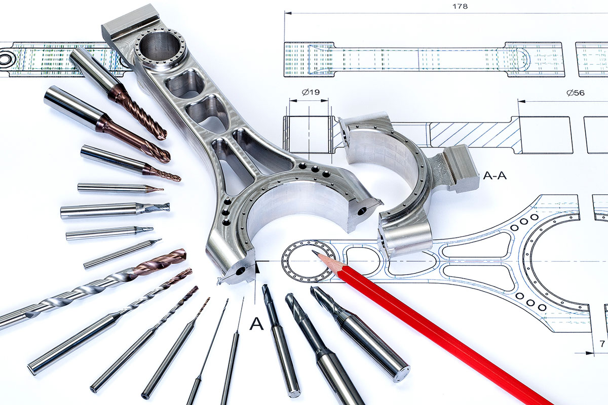 Standardized cutting tools for drilling, milling and deburring.