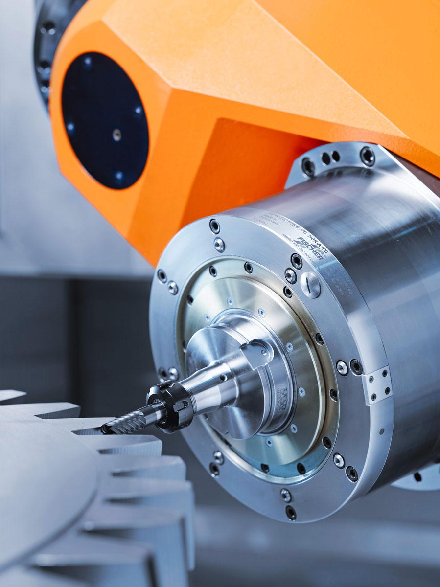 REIDEN RX18 gear milling