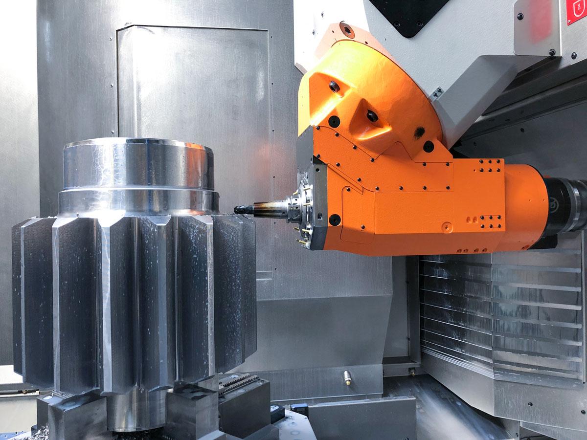 REIDEN RX10 gear milling
