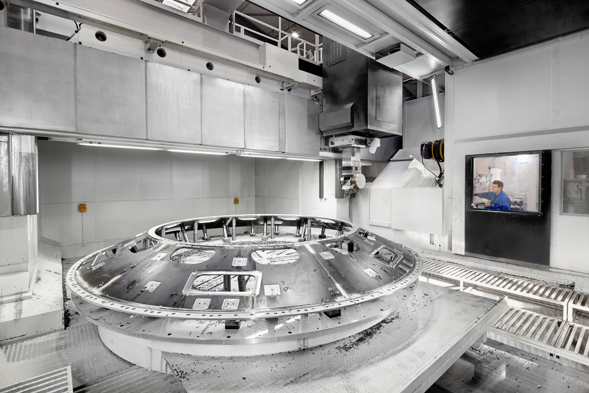 Dörries VC – The XXL sub-contractor HACO produces large parts with precision in the range of hundredths of a millimeter