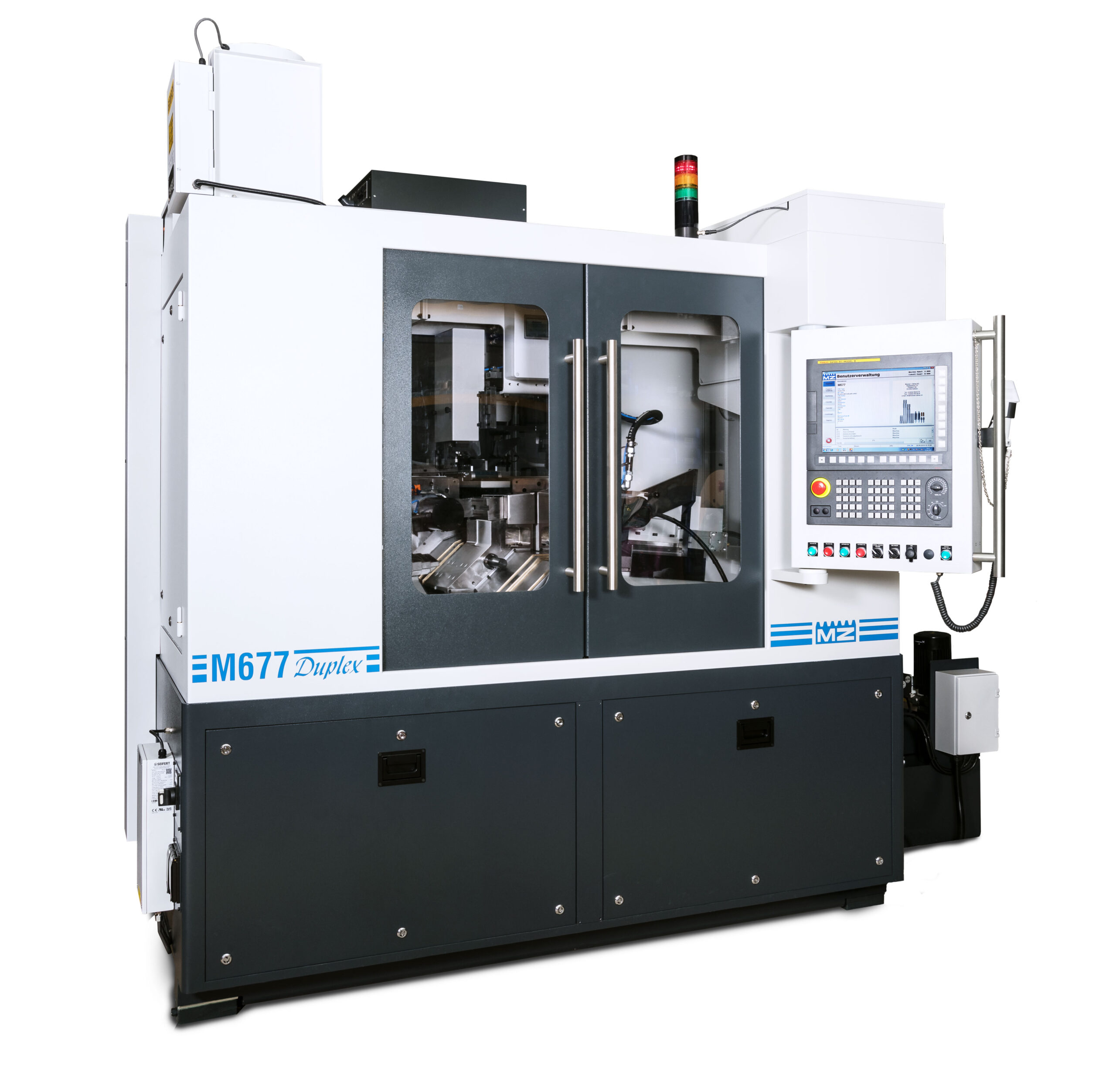 M677 Duplex worm milling machine