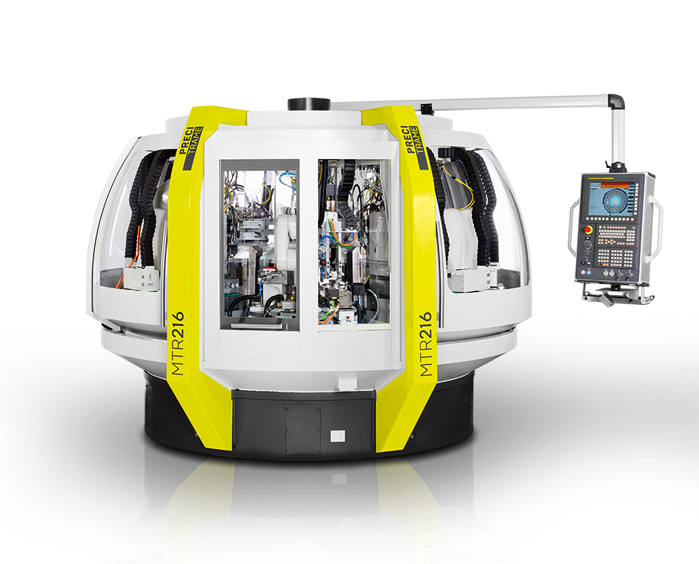 The MTR200 series from Precitrame is your solution for top and bottom machining. Thanks to its clamping system and its machine configuration, the MTR200 series enables to machine your pieces the most precise from top and from bottom without to flip it. It offers new capabilities for all milling, drilling, boring and tapping operations on two sides and meets increased customer expectations for versatility and flexibility.
