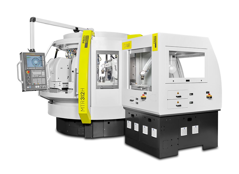 Precitrame's MTR312H CNC rotary transfer machine will drastically change your mind as far as performance and costs are concerned. Highest productivity, flexibility and speed. These advantages have been recognized for several years in industries as demanding in the clock and watch making, medical, electronics and the automotive industry.