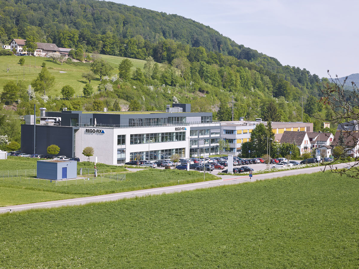 A Swiss success story Founded in 1950, REGO-FIX is an internationally active family business with over 280 employees. REGO- FIX, located in Tenniken in the Basel region of Switzerland, has been producing and selling high-precision tool clamping systems for over 65 years.