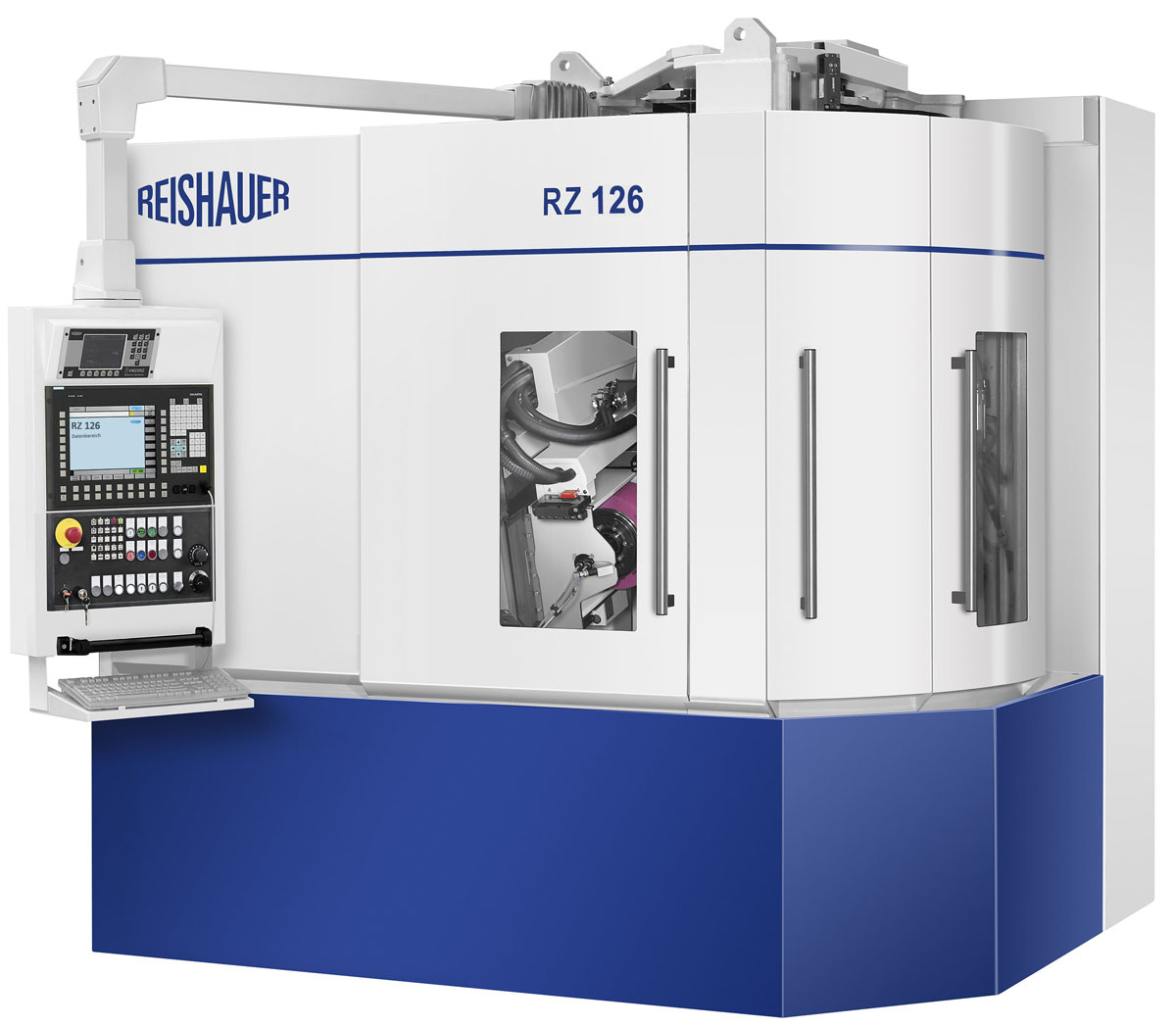 RZ 126 Manufacturing planetary pinions with grinding speeds up to 100 m/s