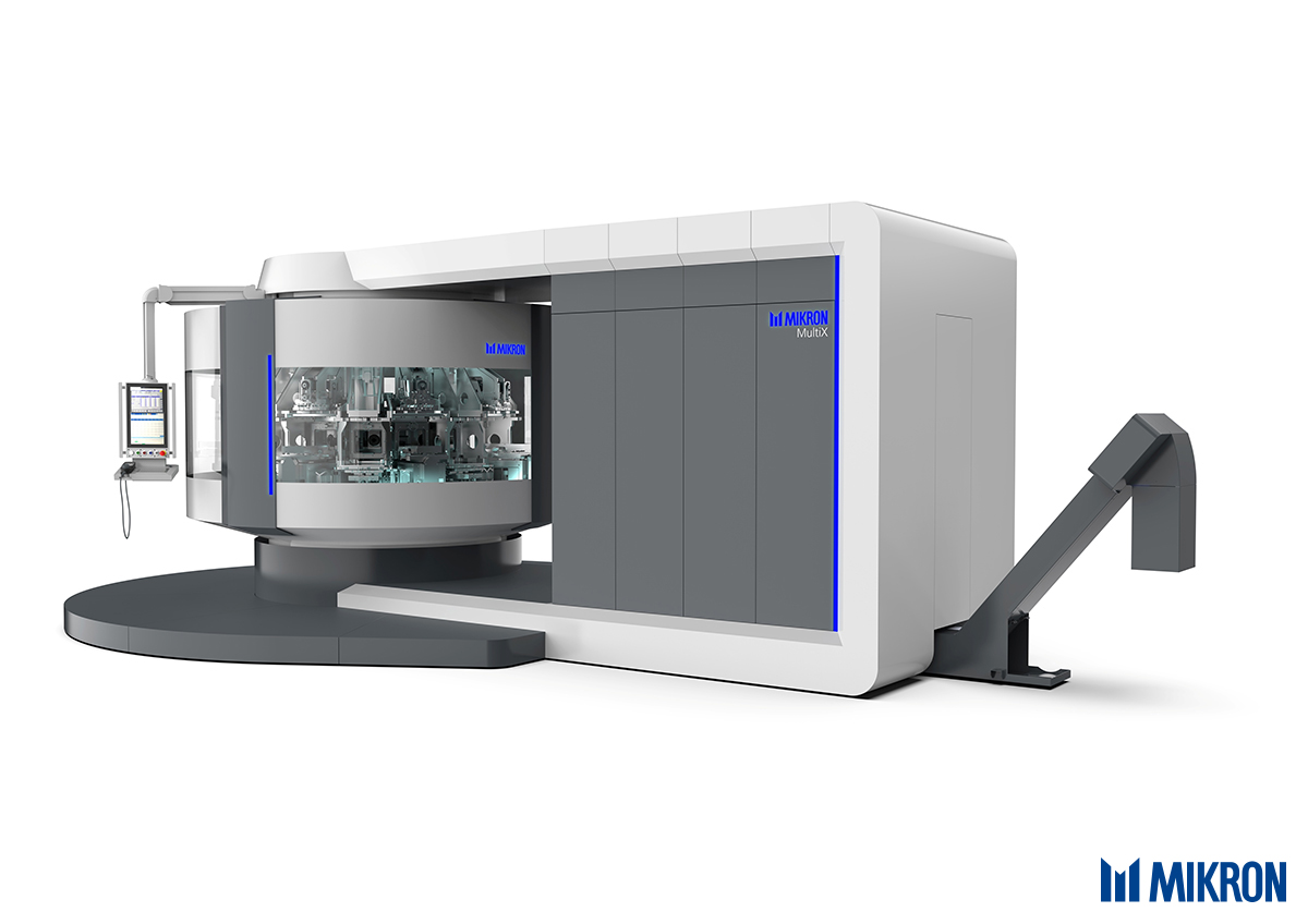<b>Mikron MultiX</b><br/>New unrivalled possibilities – The platform for dedicated easy reconfigurable machining solutions for the production of 50 up to 5'000'000 parts. Winner of the 2019 EMO innovations award.