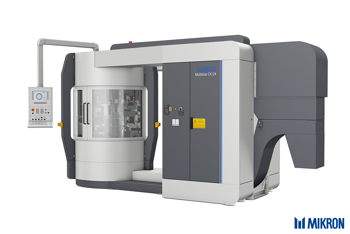 <b>Mikron Multistar CX-24</b><br/>The versatile machining system for small precision parts with unbeatableprecise performance and speed.