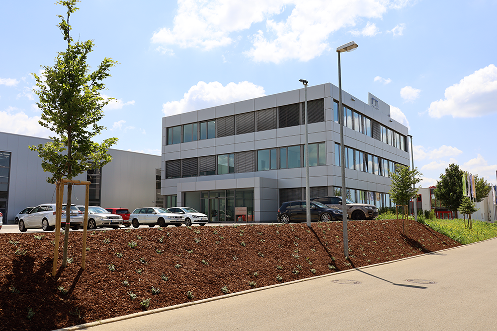 The new location of Precitrame Deutschland GmbH that ensures the sale and after sale service for our German customers.