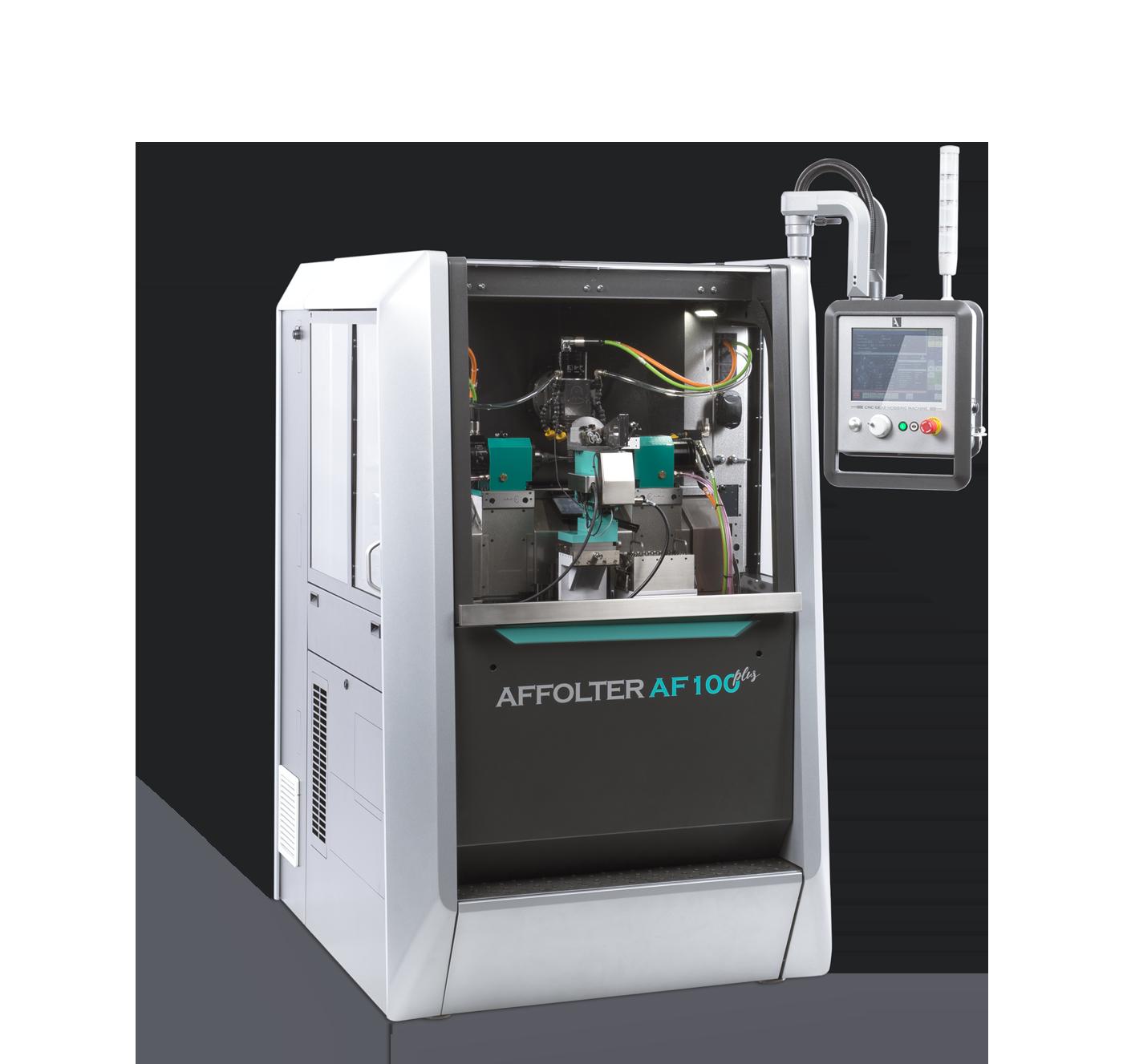 Affolter AF100 plus - versatile CNC Gear Hobbing Machine