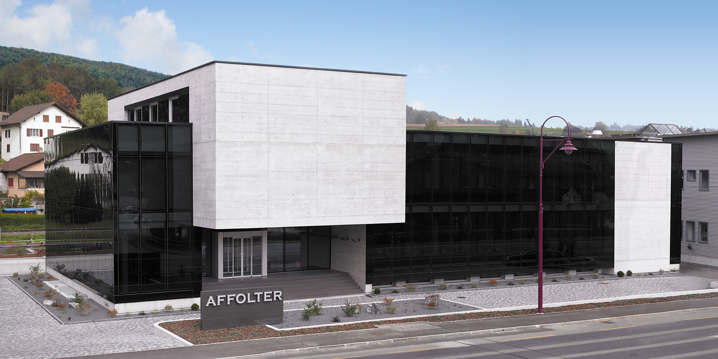 Affolter's main company building