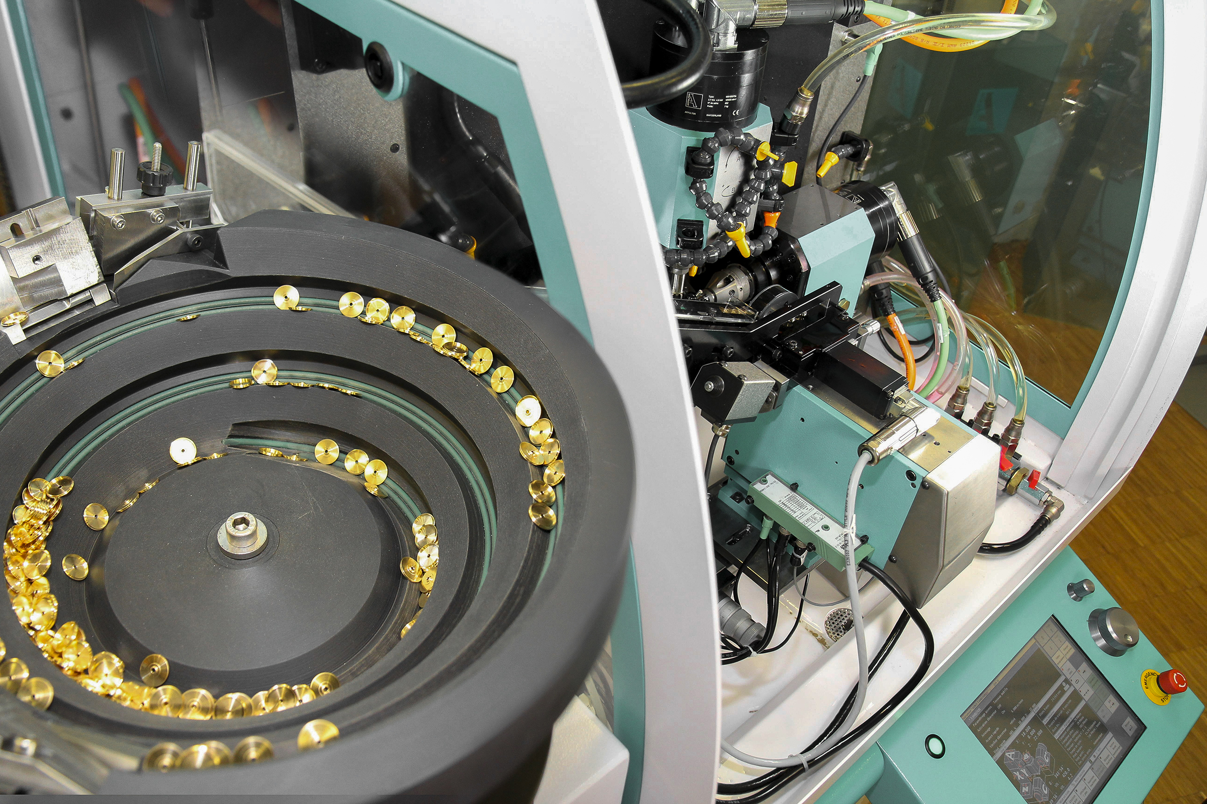 AF45 Loader system with vibratory bowl